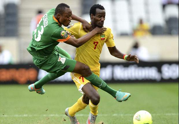 Zambia 1-1 Ethiopia: Ten-man Walya Antelopes frustrate wasteful Chipolopolo