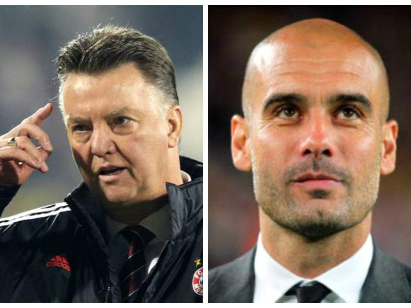 Guardiola didn't learn anything from Van Gaal, it was the other way around - Anderson