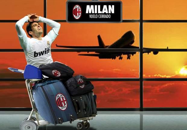Kaká se queda sin viaje a Milán