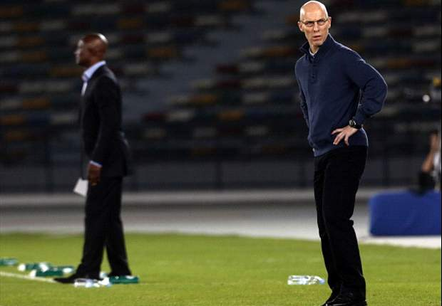 Kwesi Appiah and Bob Bradley - Ghana vs Egypt