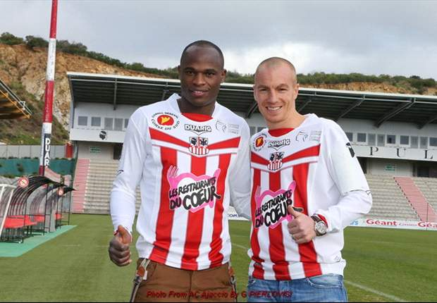 Kenya striker and captain Dennis Oliech completes switch from Auxerre to AC Ajaccio