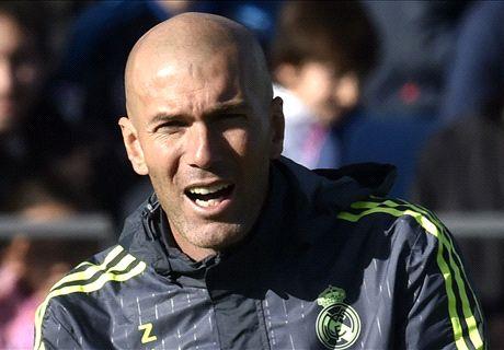 Zidane reveals Real coaching team
