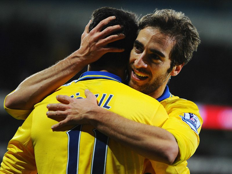 Flamini reveals the key to Ozil's good form: It's all because of my close friendship!