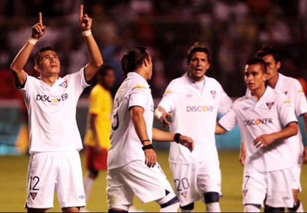 Liga de Quito y Gremio se miden en la eliminatoria más prometedora