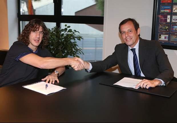 Carles Puyol Bahagia Perpanjang Kontrak