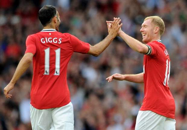 Enjoy them while you can: Paul Scholes and Ryan Giggs