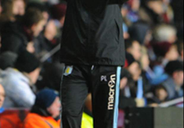 Lambert: Aston Villa not good enough to play a style of football