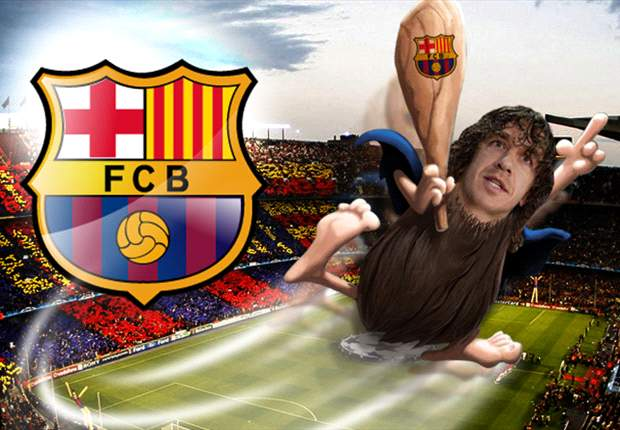 Puyol, el cavernícola del FC Barcelona