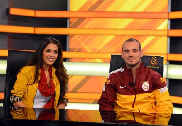 """Sneijder: """"En Turquía me siento como en casa"""""""