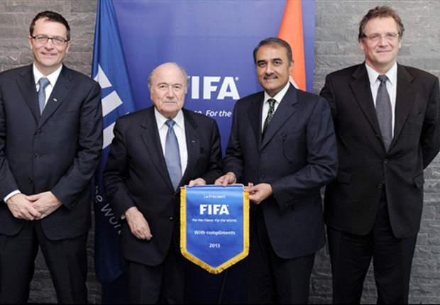 AIFF President meets Blatter regarding U-17 World Cup