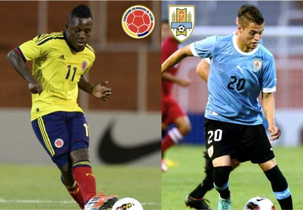 Colombia - Uruguay por la punta