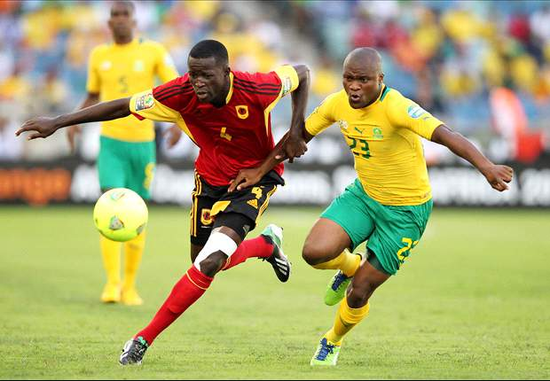 South Africa 2-0 Angola: Inspired hosts sink Angola