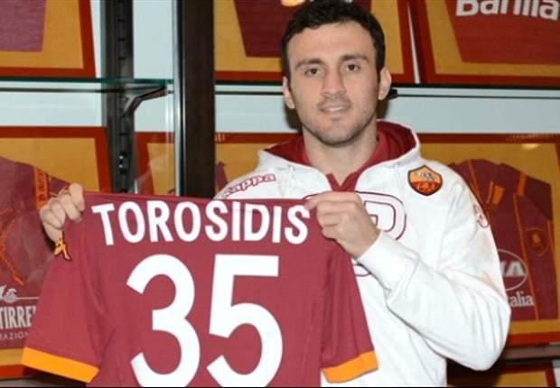 Anche la Roma ufficializza l'affare: preso il greco Torosidis, all'Olympiakos 400mila euro