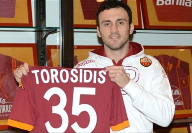 AS Rom verpflichtet Torosidis
