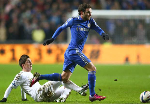 TEAM NEWS: Mata on the bench as Torres starts for Chelsea against Basel