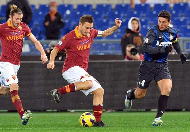 AS Roma Menang Tipis Atas FC Internazionale
