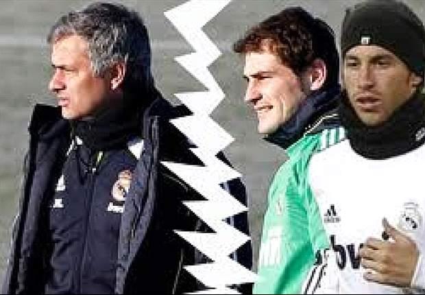 """Ultimatum Casillas-Sergio Ramos al Real Madrid: """"O Mourinho o noi, è impazzito..."""""""