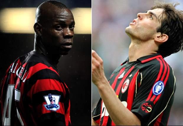 Milan zet Balotelli en Kaká uit het hoofd
