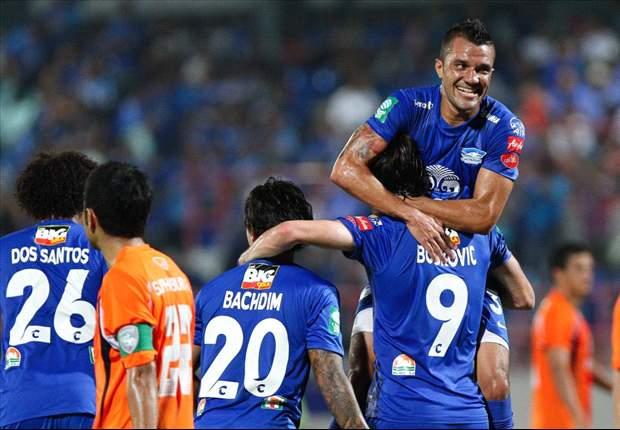 Irfan Bachdim Jalani Laga Perdana Bersama Chonburi FC