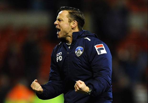 Oldham manager Dickov facing the sack despite Liverpool FA Cup win