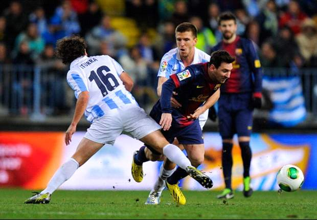 Malaga 2-4 Barcelona (Agg 4-6): Blaugrana set up semi-final showdown with Real Madrid
