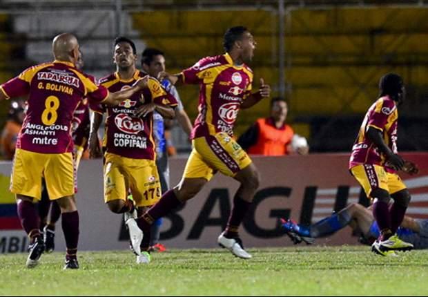Com menos um, Tolima vence o Universidad César Vallejo, pela Libertadores