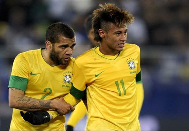 'Neymar was touched by God at birth' - Alves