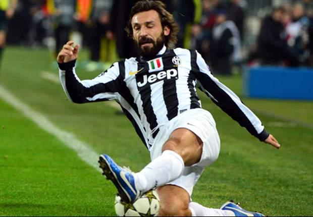 Pirlo sempre più mostruoso: contro la Fiorentina un solo pallone sbagliato su 75 passaggi!