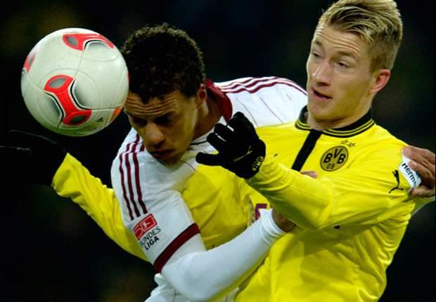 Borussia Dortmund siegt souverän bei Nuri Sahins Rückkehr gegen den 1. FC Nürnberg