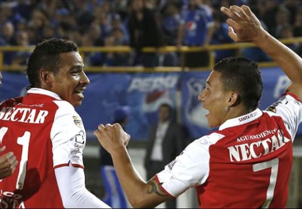 Santa Fe debuta con goleada en casa de Alianza Petrolera