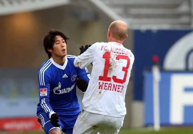 Schalke tropeça contra o Augsburg e cai para sexto no Campeonato Alemão