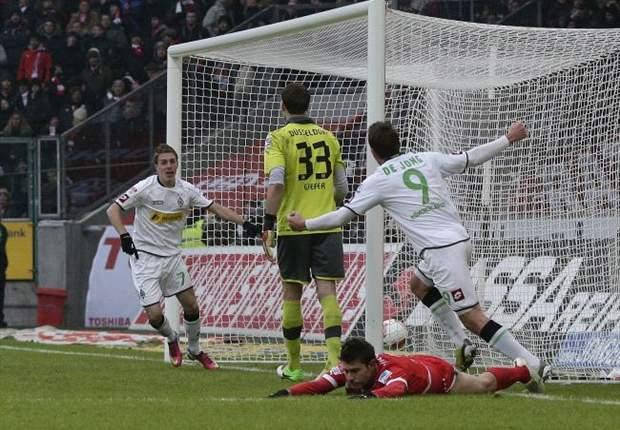 Borussia Mönchengladbach siegt knapp, aber verdient gegen Fortuna Düsseldorf