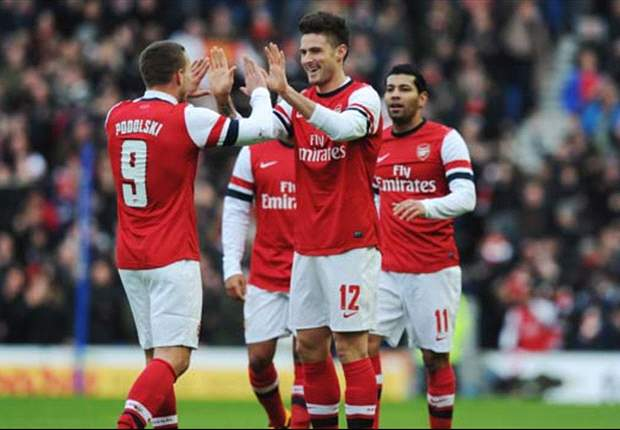 Premier League Treble: Home wins for Arsenal & Everton plus more goals at Reading