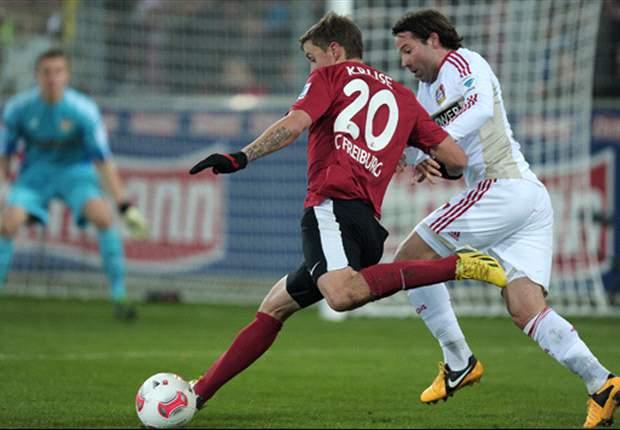 Keine Tore in Freiburg: Leverkusen bleibt Tabellenzweiter