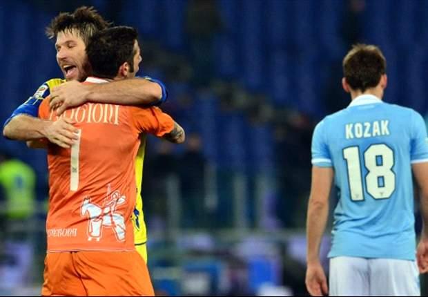 Ohne Miroslav Klose: Bittere Heimpleite für Lazio Rom gegen Chievo Verona