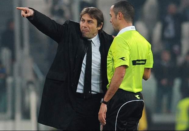 """Conte non ha cambiato idea: """"Gli arbitri italiani sono i più bravi al mondo"""". Ma ha anche un'altra certezza: """"La Juventus è favorita per lo scudetto"""""""