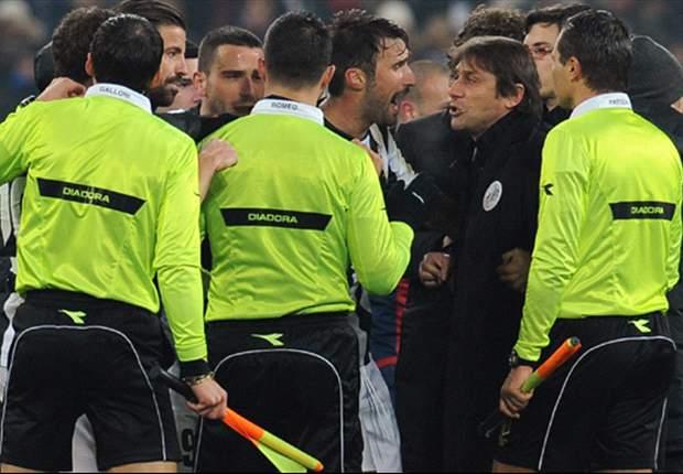 """Malumori in casa Juventus dopo la stangata del giudice sportivo, si teme il deferimento di Marotta e spunta una frase di Conte alla terna: """"Non avete le p...."""""""