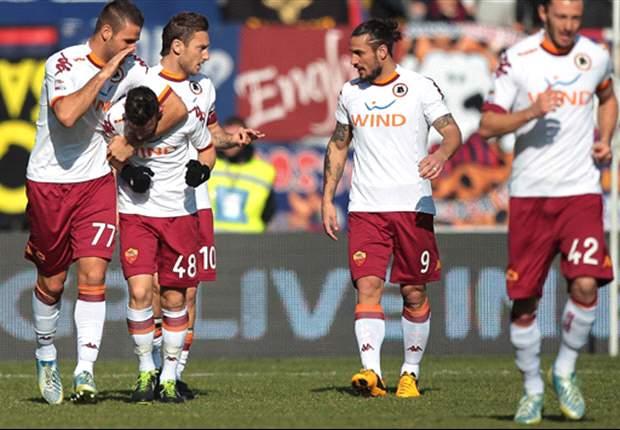 Osvaldo gritó en el vibrante empate de la Roma ante Bologna