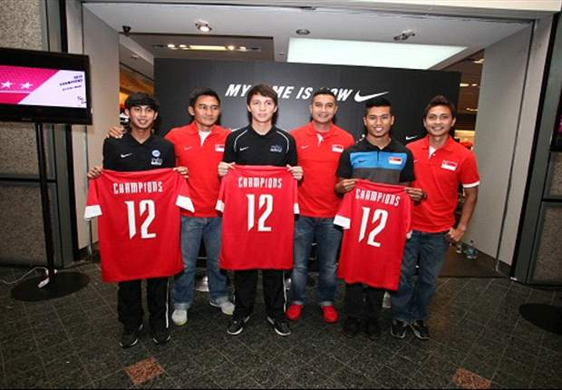 Limited edition Singapore jerseys sell out on day of launch