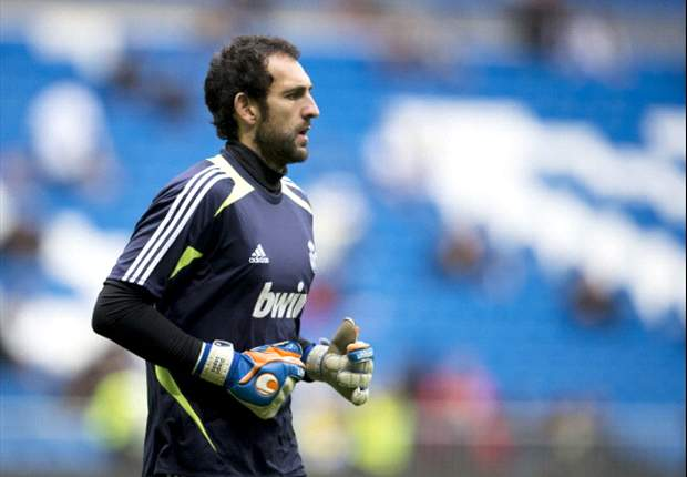 Diego Lopez enjoying Casillas battle