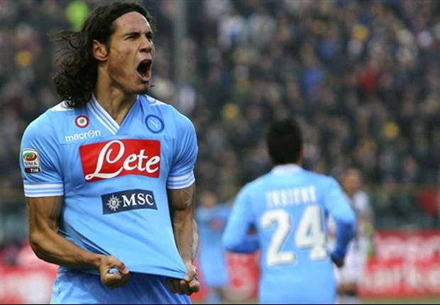 Parma 1 x 2 Napoli: Cavani resolve e ajuda equipe a se aproximar da Juve