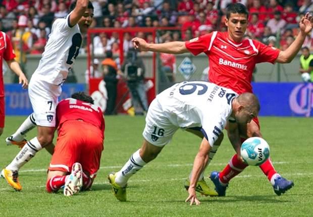 Liga MX: Toluca 0-1 Pumas | Rugido en la fría caldera del Diablo