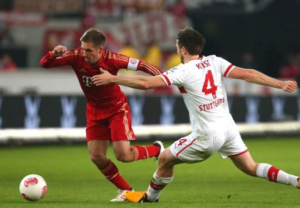Bayern nicht zu stoppen: 2:0-Erfolg in Stuttgart