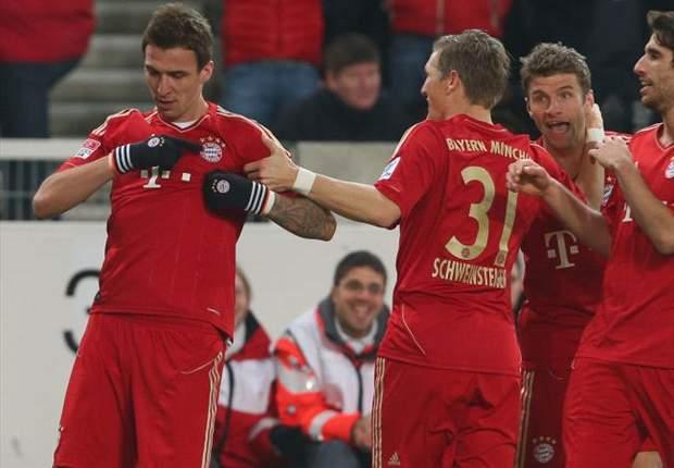 Stoccarda-Bayern Monaco 0-2: Un errore di Molinaro spiana la strada ai bavaresi, Mandzukic e Muller firmano il +11 sul Leverkusen