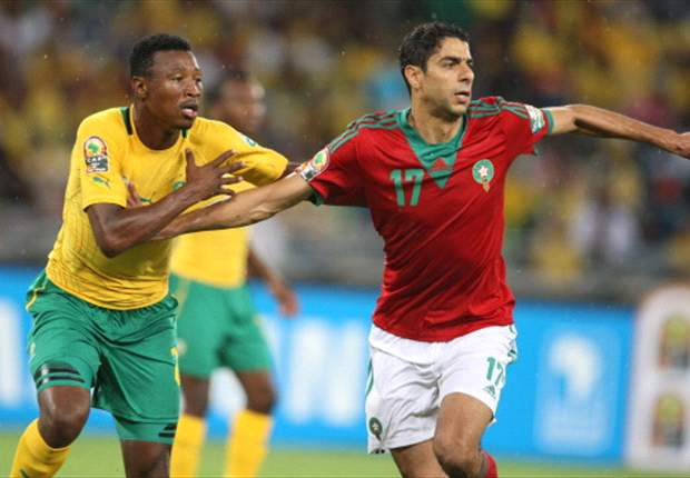 South Africa 2-2 Morocco: Dramatic draw sees the hosts through in top spot