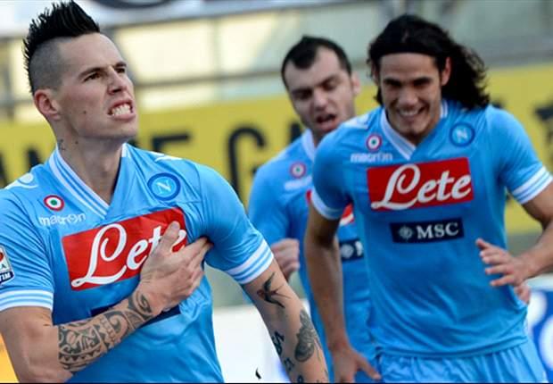Punto Napoli - Dopo Parma appare sempre più evidente: Cavani ormai è un 'uomo in missione', la sua si chiama Scudetto