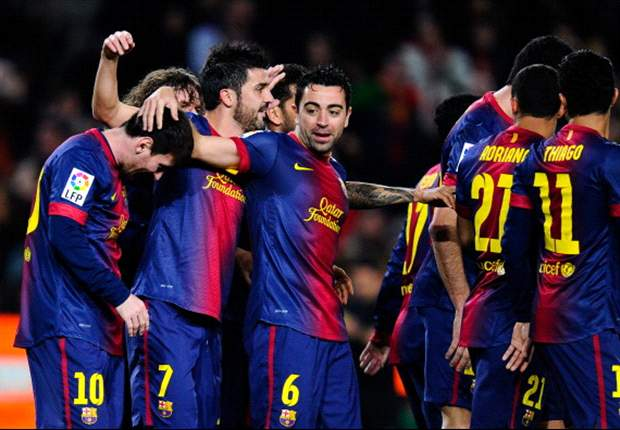 Barcelona 5-1 Osasuna: Messi nets fantastic four in routine win