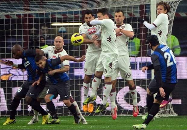 Inter morst twee dure punten tegen Torino
