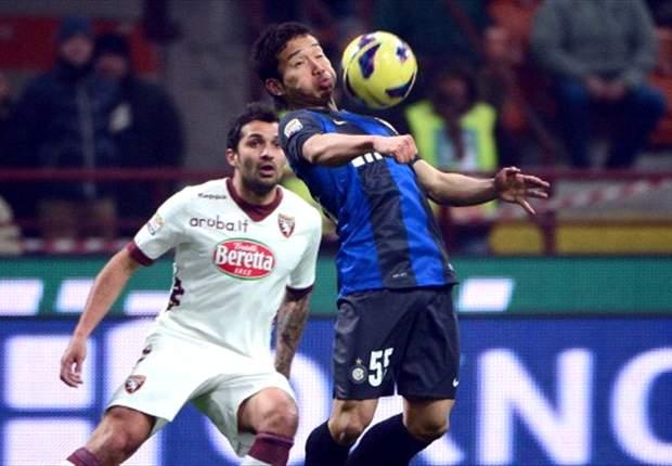 Inter Mailand und FC Turin trennen sich mit 2:2 - Cambiasso rettet Remis
