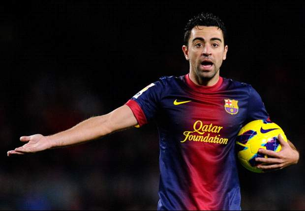 Xavi could miss Barcelona's AC Milan date
